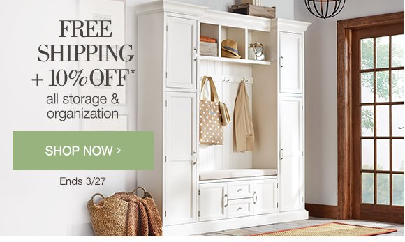 Home Decorators Collection 5 Days Only Free Shipping 10 Off All Storage And Organization