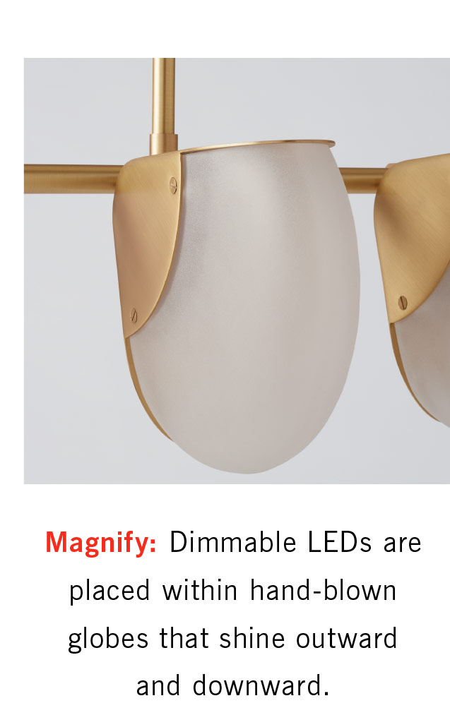 Magnify LED Chandelier