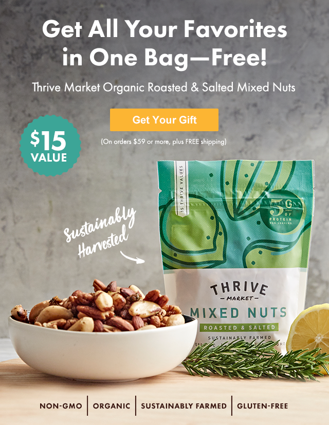 Thrive Market: FREE: You'll go nuts for this deal ($15 value ...