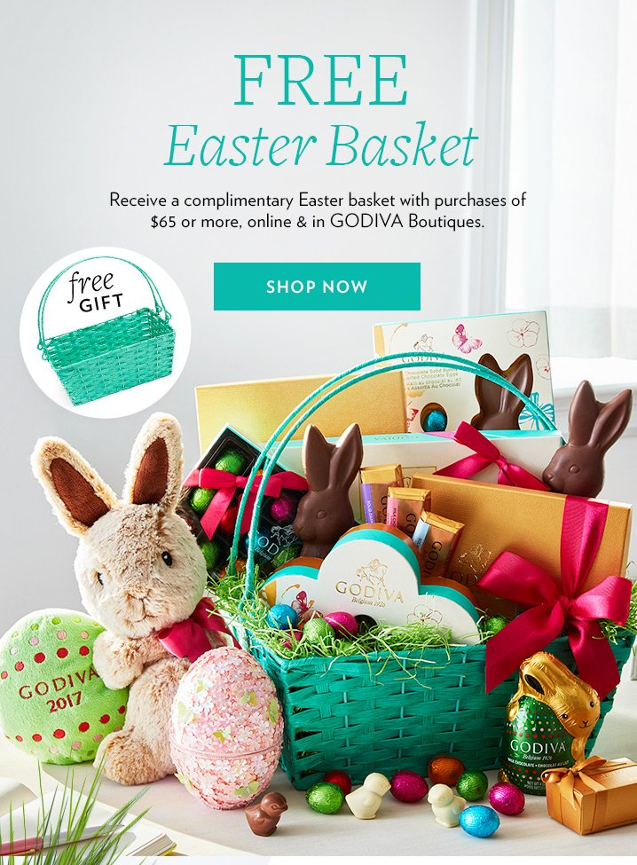 Godiva complimentary easter gift for you free shipping on godiva complimentary easter gift for you free shipping on select easter items milled negle Choice Image