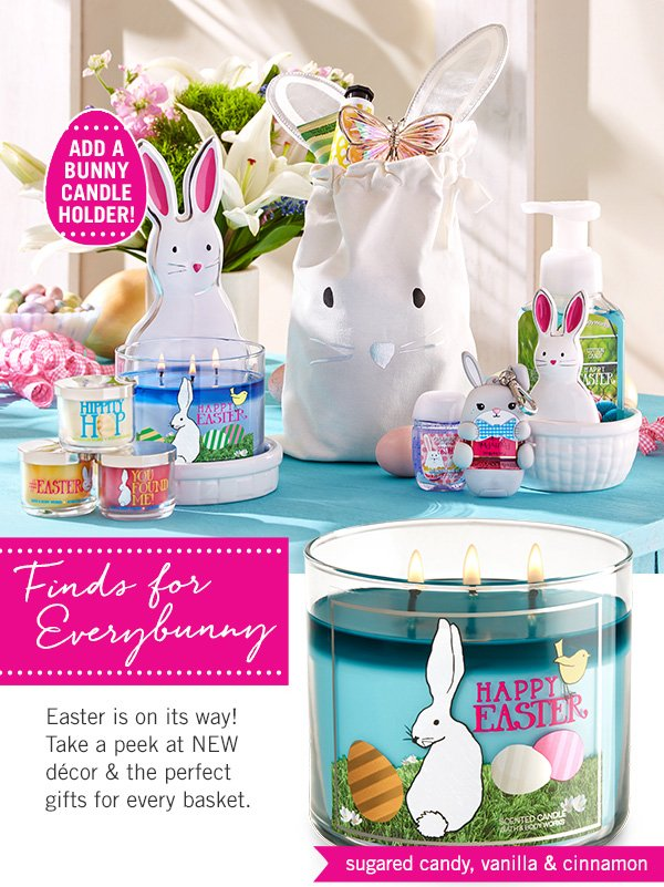 Bath body works its almost easter hop to it milled easter is on its way take a peek at new negle Images