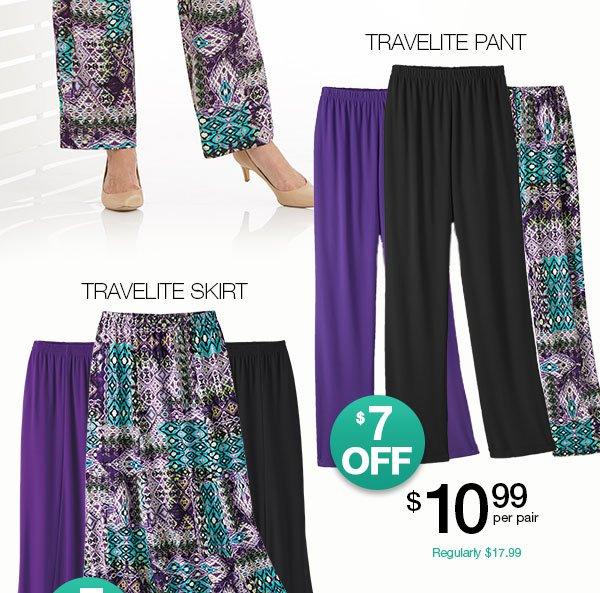 Travelite Collection - 5 No-Iron Pieces!