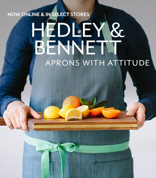 Sur La Table Hedley Bennett Makes Aprons With Attitude
