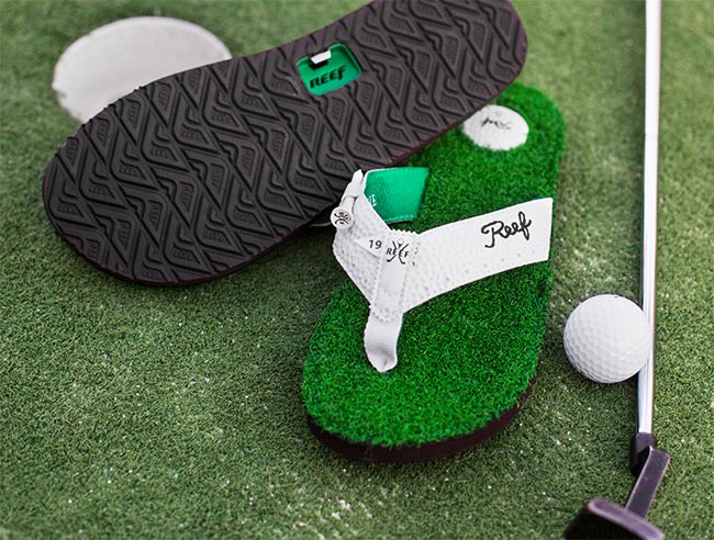 a7f54323e7be Reef  Tee Up With The Mulligan Sandal