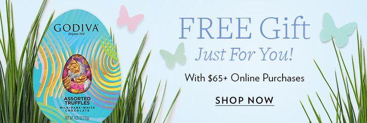 Godiva easter gifts ship free fill your easter basket with a godiva easter gifts ship free fill your easter basket with a free gift milled negle
