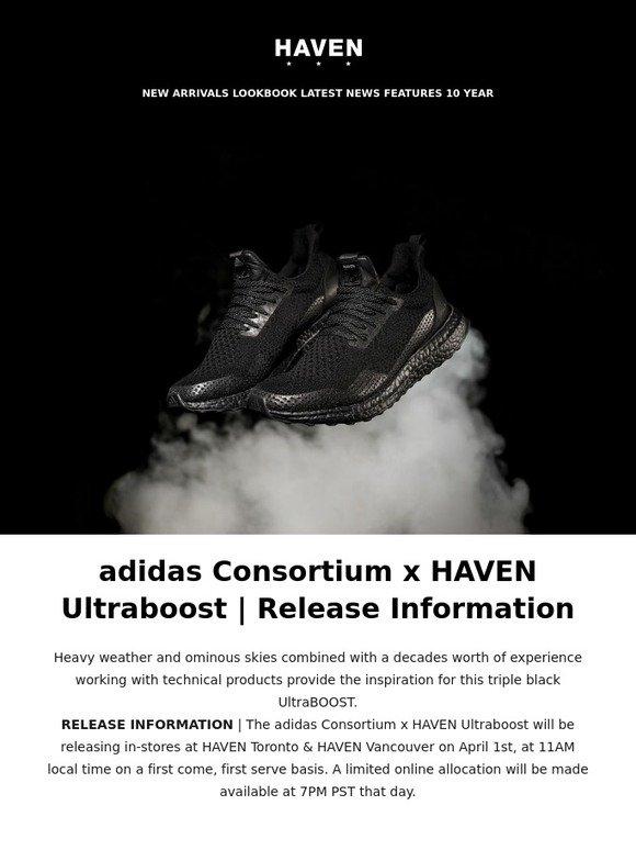 4871ce49d0b3a Haven  HAVEN x adidas Consortium Ultraboost