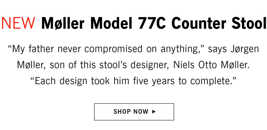 Moller Counter Stool