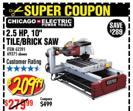 harbor freight wet saw. 2.5 hp tile/brick saw harbor freight wet r