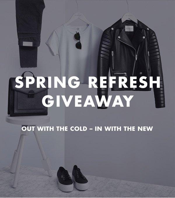 Spring Refresh Giveaway