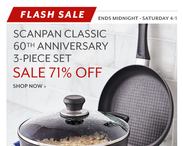 Sur la Table: No Joke—This Scanpan Offer is the Real Deal | Milled