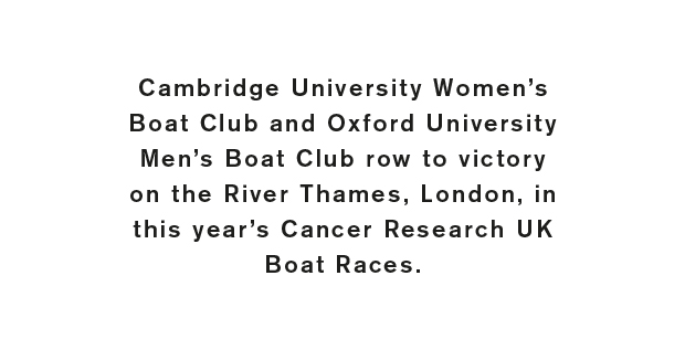 The Cancer Research UK Boat Races