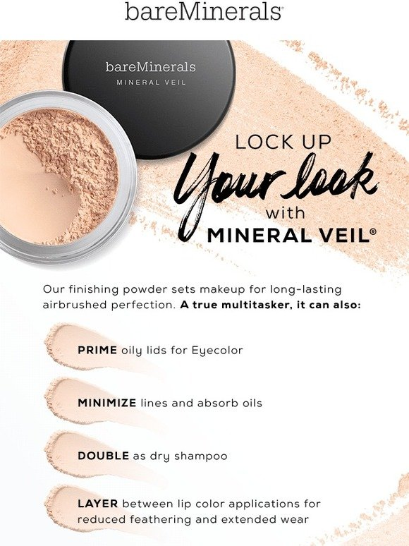 Bare Escentuals: Mineral Veil is the key to setting your look | Milled