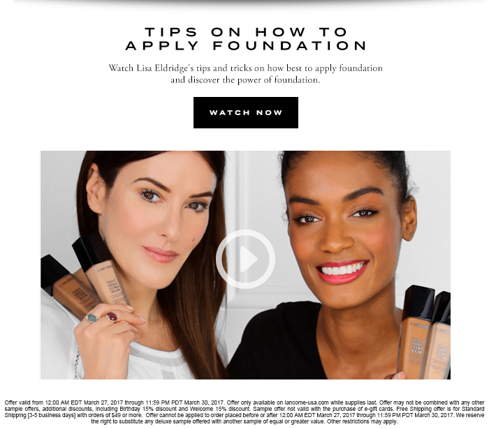 TIPS ON HOW TO APPLY FOUNDATION - WATCH NOW