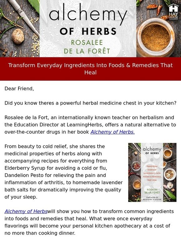Hay House, Inc : Foods & Remedies That Heal - Free Recipes