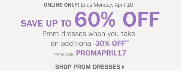 c6a69437145 Younkers  Save up to 60% off Prom Dresses with Promo Code (Inside ...