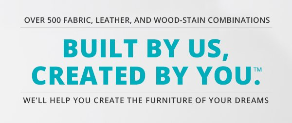 Over 500 Fabric Leather And Wood Stain Combinations Built By Uscreated