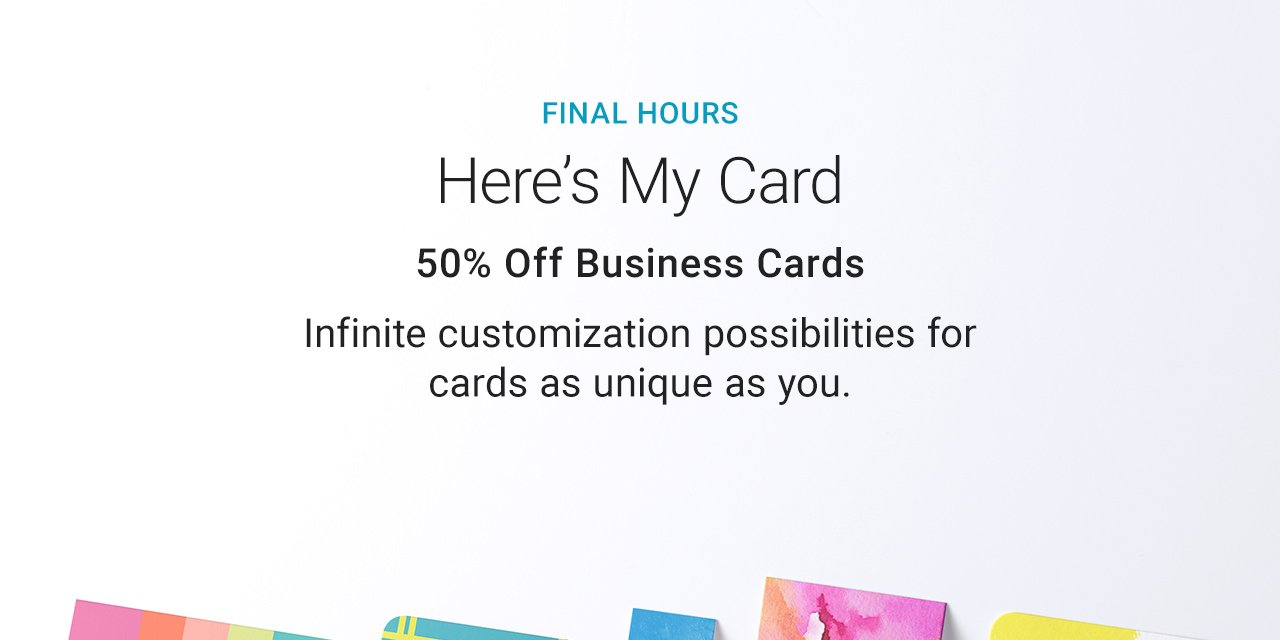 Fantastic zazzle promo code business cards motif business card zazzle 50 off business cards coupon code images card design and reheart Image collections