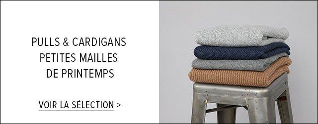 Pulls & Cardigans : petites mailles de printemps