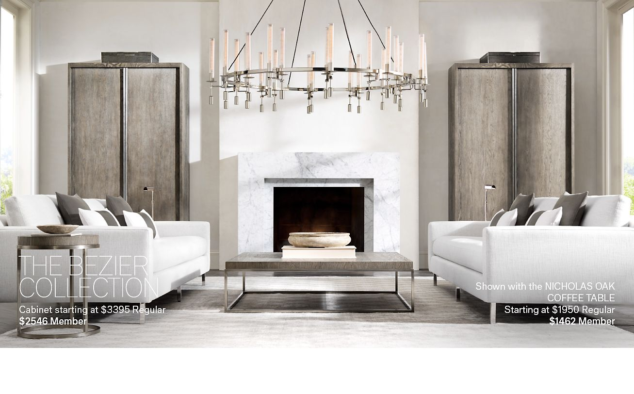 Restoration Hardware: The Nicholas American Oak Collection by ...