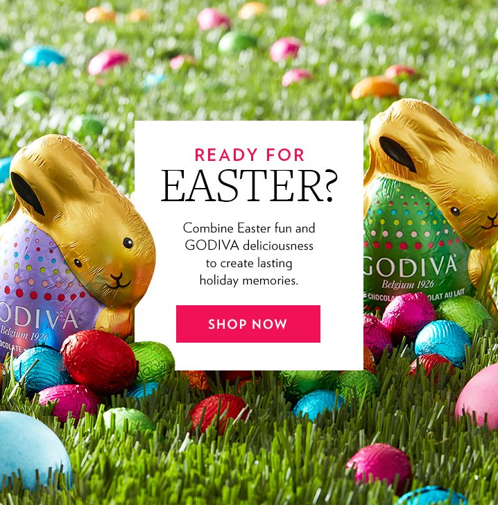 Godiva hours left 25 off easter gifts free shipping milled free standard shipping 60 300 negle Gallery