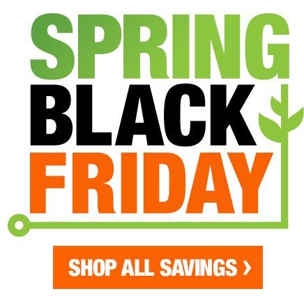 Black Friday Savings Home Depot