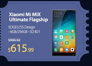 Xiaomi Mi MIX Ultimate Flagship Phablet