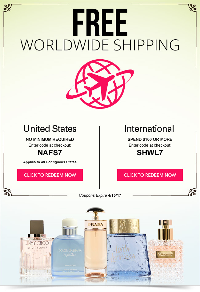 FragranceNet.com: 2 Words: Free Shipping! | Milled
