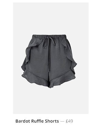 bardot-ruffle-shortss