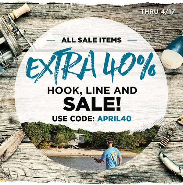 EXTRA 40% Off All Sale Items.