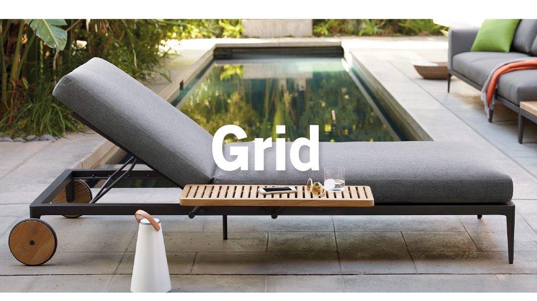 Grid Chaise