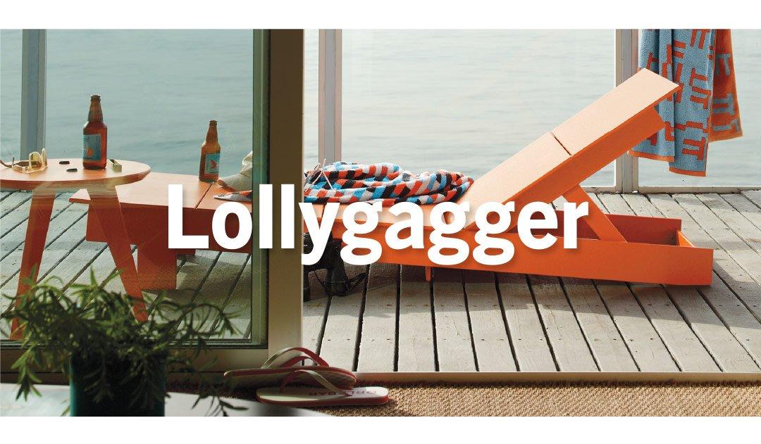 Lollygagger Chaise