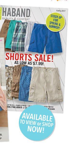 Shop Our New Men's Spring Catalog!