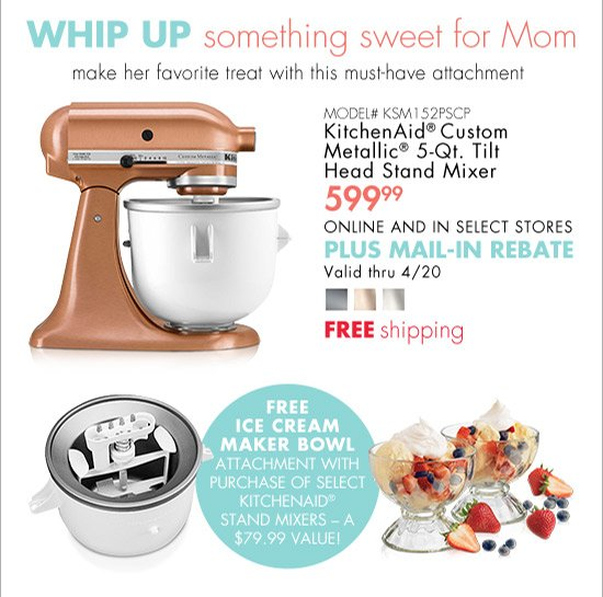 Bed Bath And Beyond Free Kitchenaid Attachment With