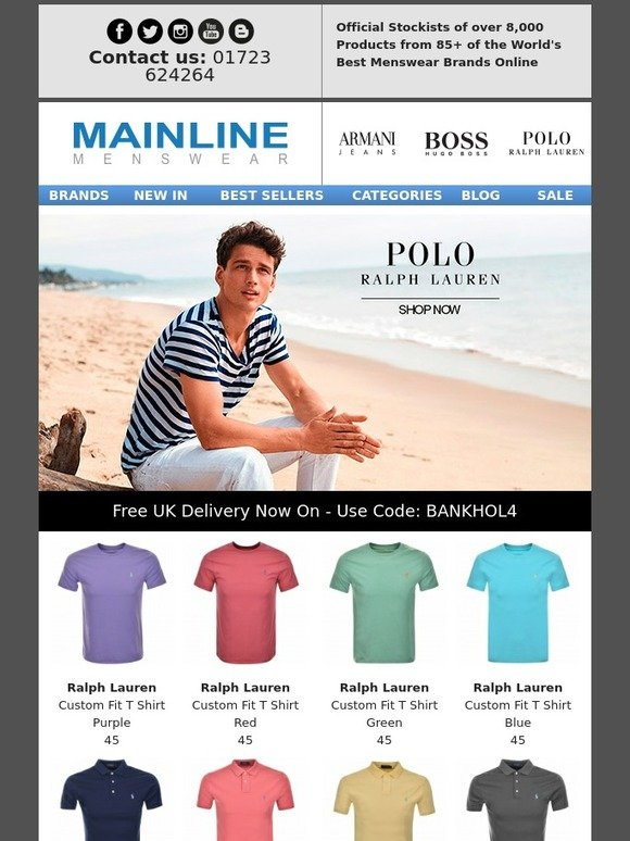 Fear of missing out? Get notified when new coupons are released at the stores you love. Enjoy Free Delivery At Ralph Lauren. 1 1. 0 People Used. red. Show Code. 30 % OFF. Enjoy 30% Off Orders Of $+ Feel free to use 100loli.tk discount codes before checkout. With 100loli.tk Discount Codes, Enjoy Great Savings.