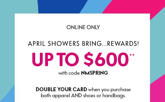 Neiman Marcus: Did you get a $600 gift card yet?   Milled