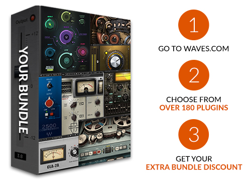 Waves Audio: Build Your Own Bundle | Milled