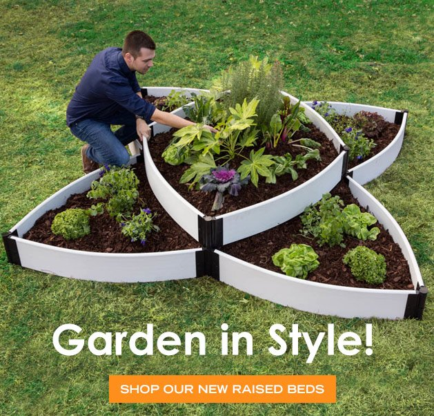 Gardener 39 s supply company garden in style with our for Gardeners supply company