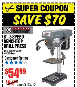 harbor freight hammer drill. 5 speed bench drill press harbor freight hammer