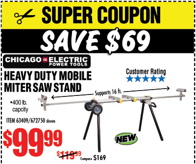 Harbor Freight: 80% Off Job Site Tools | Milled