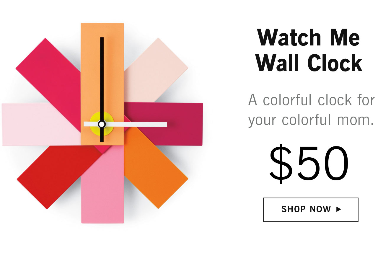 Watch Me Wall Clock