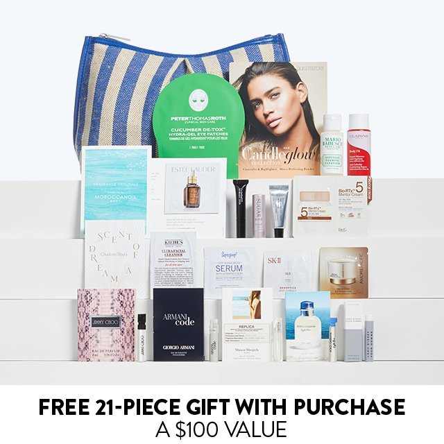Free 21-Piece Gift With Purchase