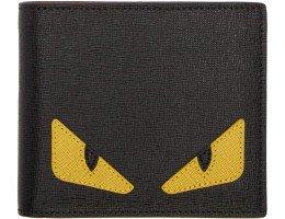 Fendi - Black Bag Bug Wallet