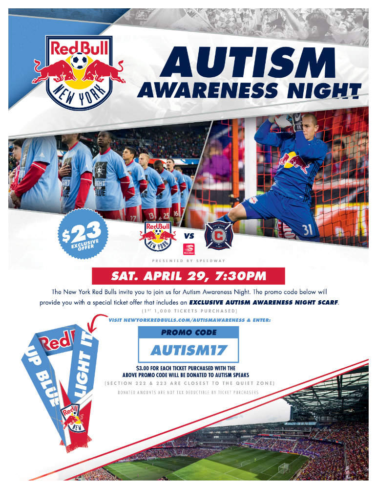 Autism Speaks Autism Awareness Night With The New York
