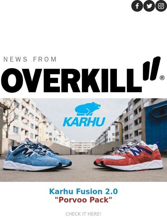 4657111e99473 Overkill: adidas Iniki Runner I Karhu Fusion 2.0