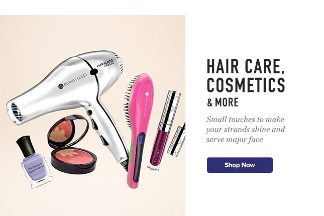 Hair Care, Cosmetics & More