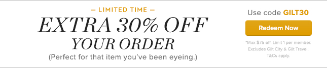 Extra 30% Off Your Order