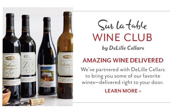 Sur La Table Wine Club - Learn More