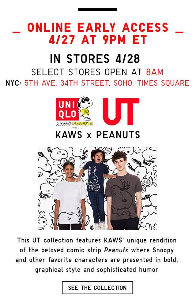 Kaws X Peanuts - AVAILABLE ONLINE 4/27 9PM ET - AVAILABLE ONLINE 4/27 9PM ET