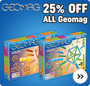 25% OFF ALL Geomag