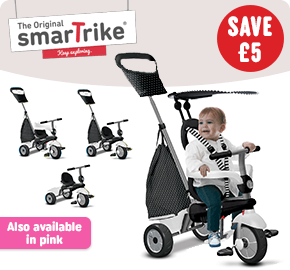 SmartTrike 4 in 1 Vanilla Plus